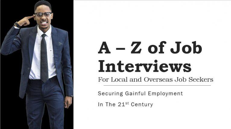 A – Z of Job Interviews
