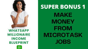 MAKE MONEY FROM MICROTASK JOBS