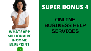 ONLINE BUSINESS HELP SERVICES