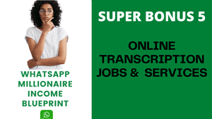 ONLINE TRANSCRIPTION JOBS & SERVICES